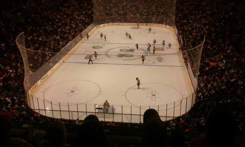 Seating view for Wells Fargo Center Section 219A Row  4 Seat  8