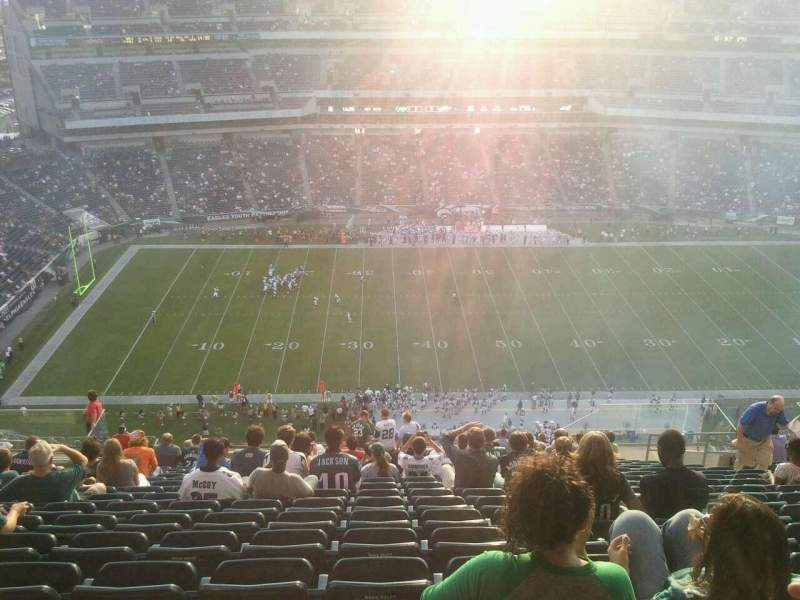Seating view for Lincoln Financial Field Section 224 Row 24 Seat 11