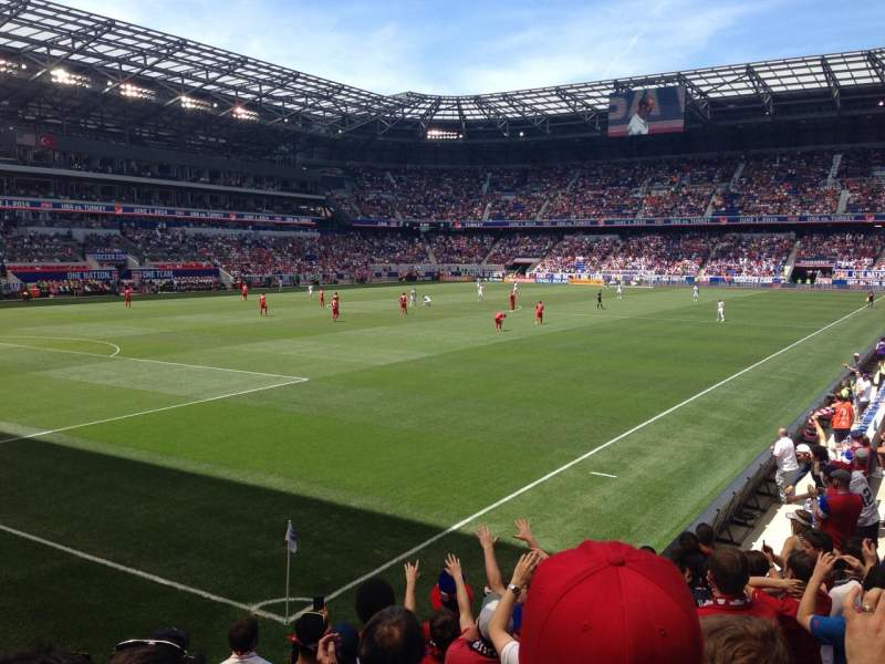 Seating view for Red Bull Arena Section 130 Row 9 Seat 15