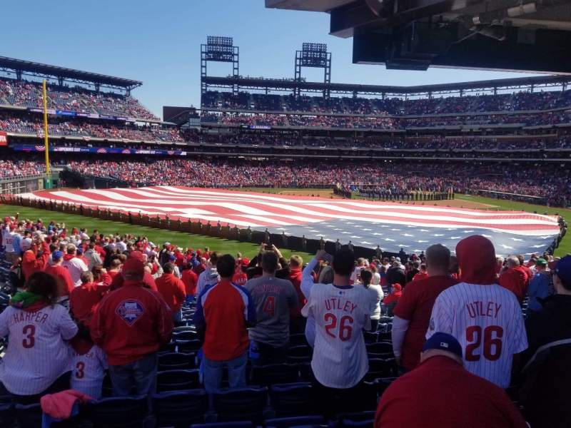 Seating view for Citizens Bank Park Section SR Row SR Seat SR