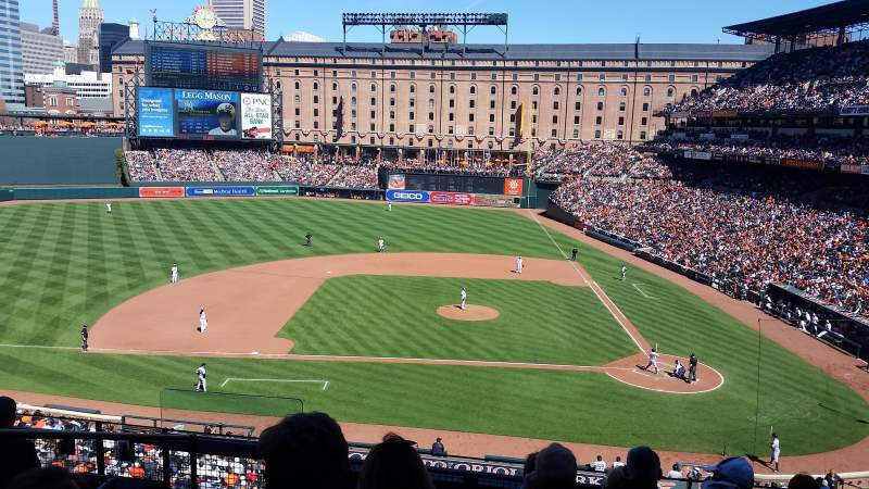 Seating view for Oriole Park at Camden Yards Section 246 Row 7 Seat 13