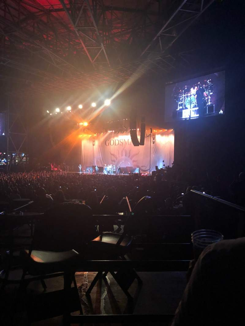 Seating view for Ameris Bank Amphitheatre Section 101 Row D Seat 19