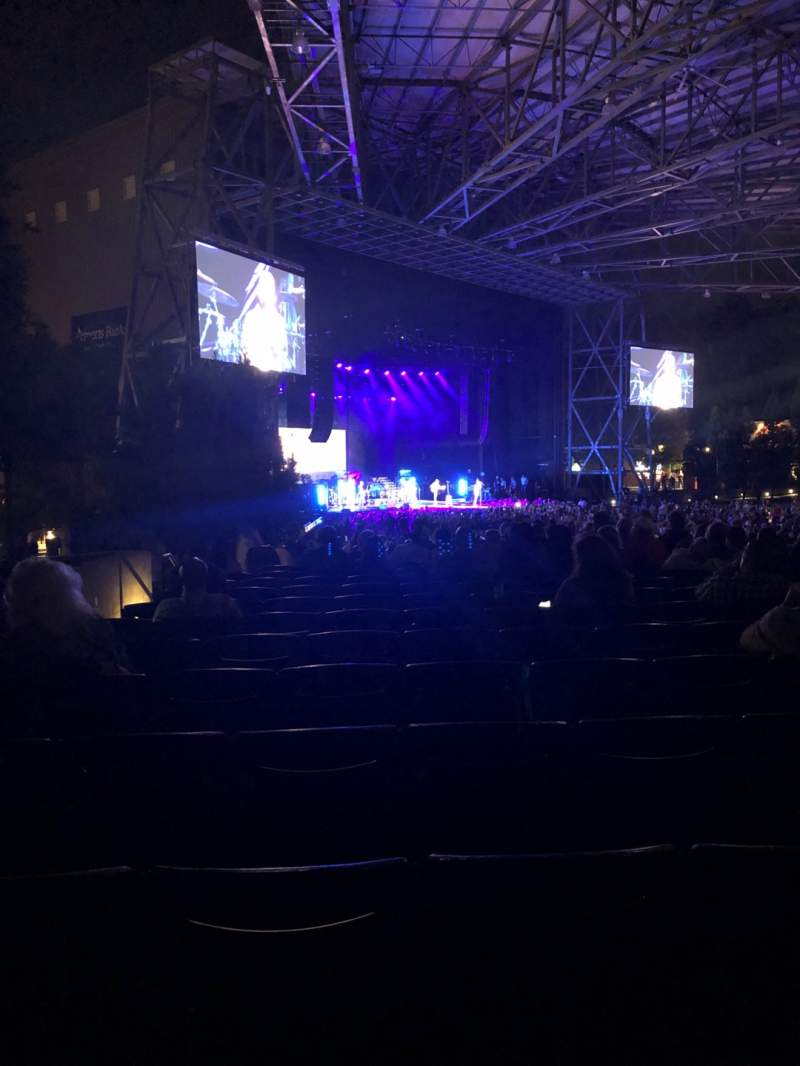Seating view for Ameris Bank Amphitheatre Section 104 Row P Seat 35