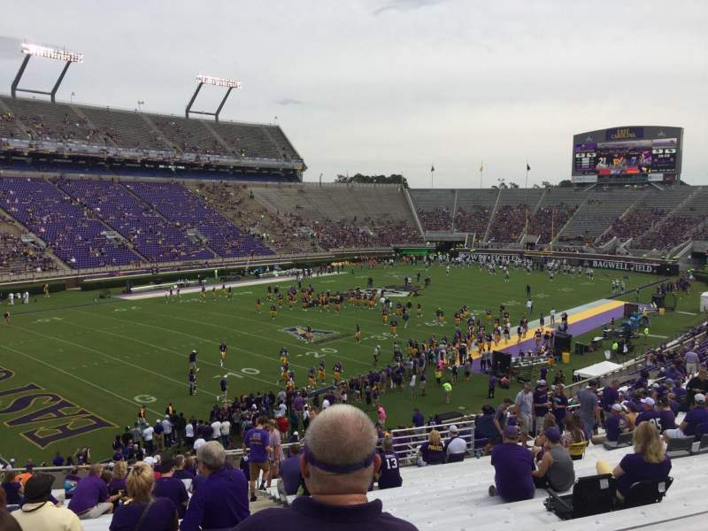 Seating view for Dowdy-Ficklen Stadium Section 11 Row MM Seat 2