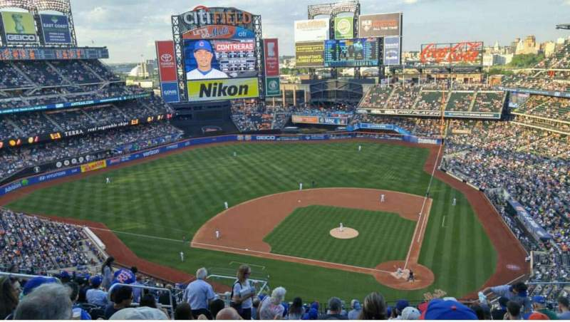 Seating view for Citi Field Section 518 Row 12 Seat 14