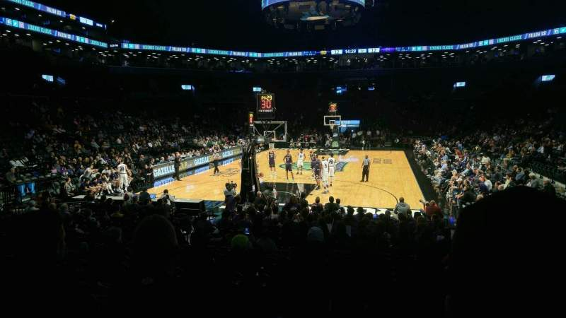 Seating view for Barclays Center Section 31 Row 12 Seat 12