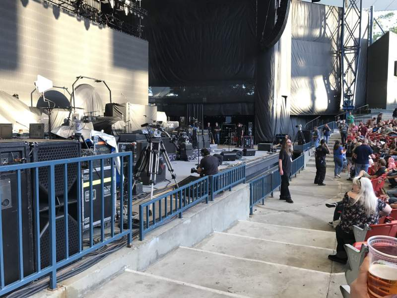 Seating view for Shoreline Amphitheatre Section 103 Row C Seat 17