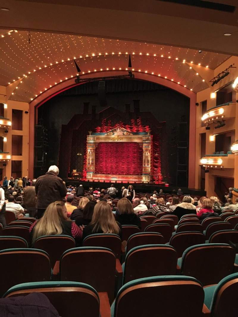 Seating view for Procter And Gamble Hall at the Aronoff Center Section RORCH Row X Seat 307