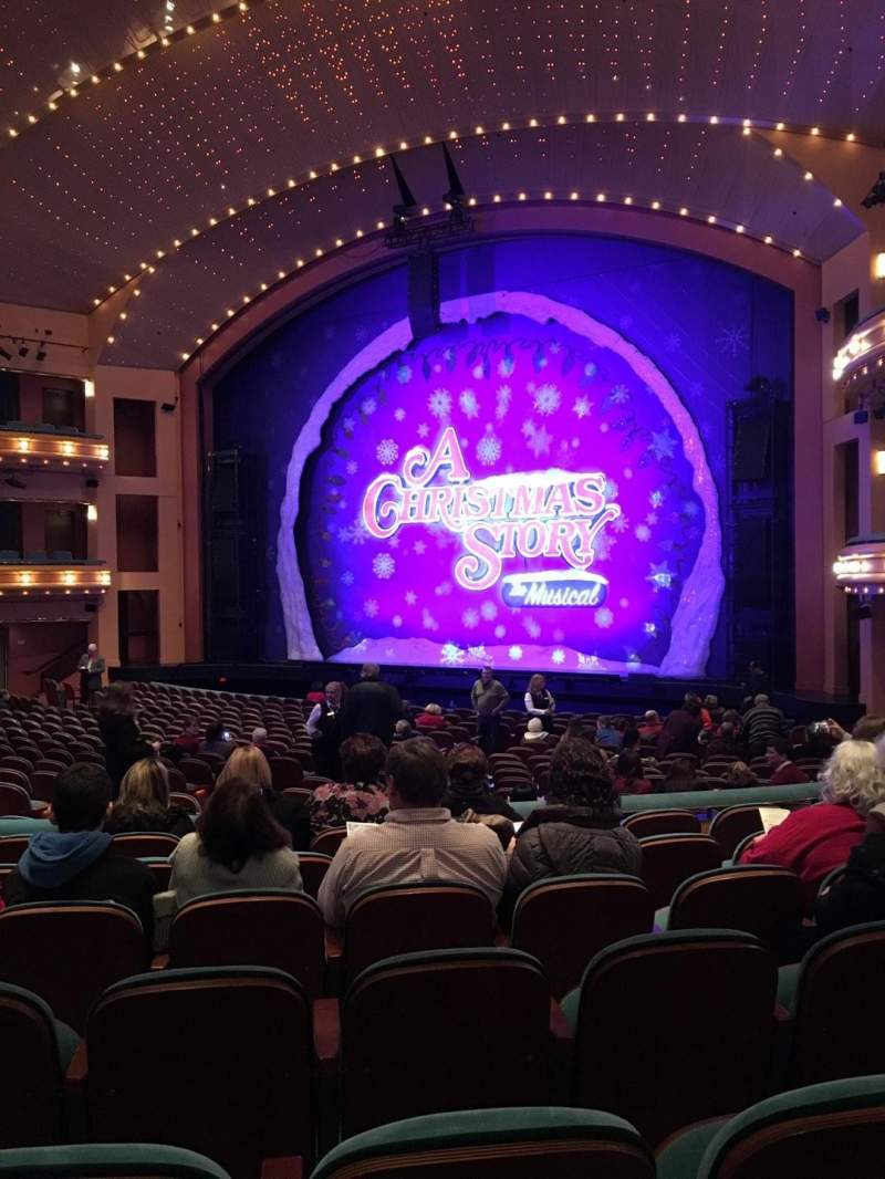 Seating view for Procter And Gamble Hall at the Aronoff Center Section Rear Orchestra R Row V Seat 314