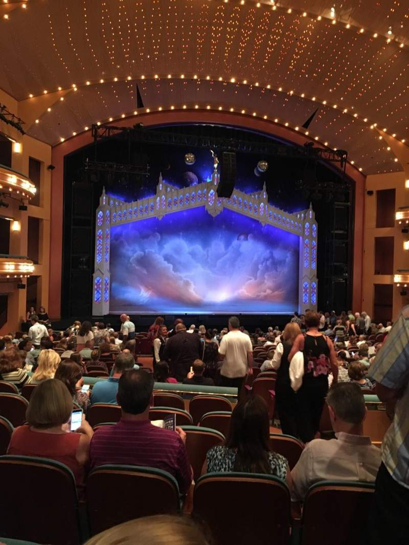 Seating view for Procter And Gamble Hall at the Aronoff Center Section Rear Orchestra L Row V Seat 119
