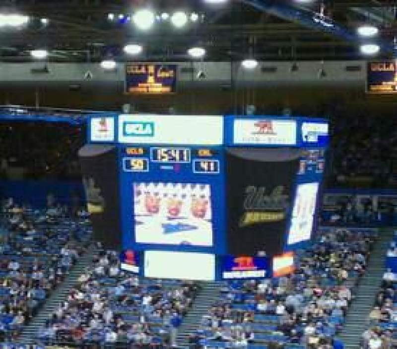Seating view for Pauley Pavilion Section 304A Row 5 Seat 6