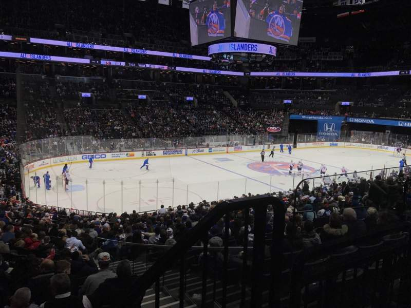 Seating view for Barclays Center Section 111 Row 4 Seat 3