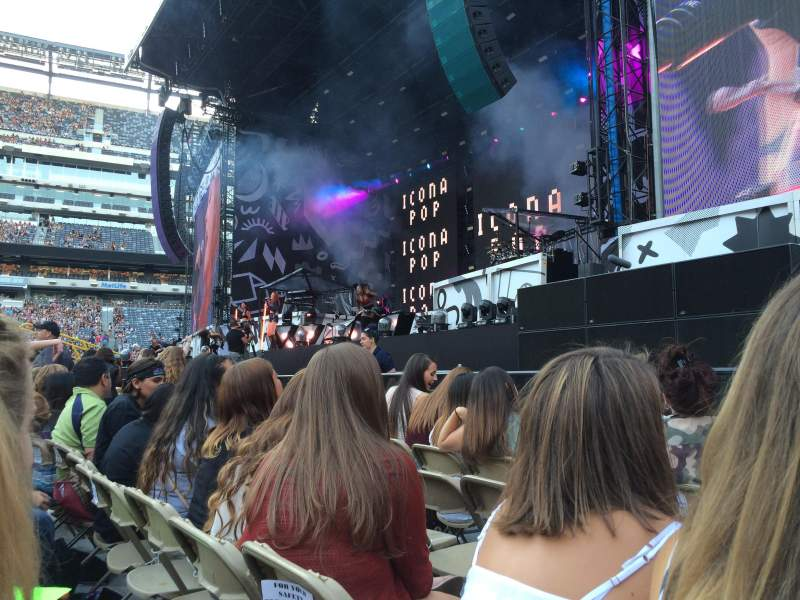 Seating view for MetLife Stadium Section 2 Row 4