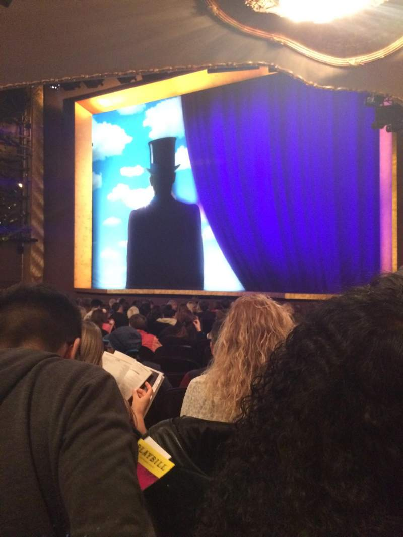Lunt-Fontanne Theatre, section: Orchestra, row: R, seat: 16