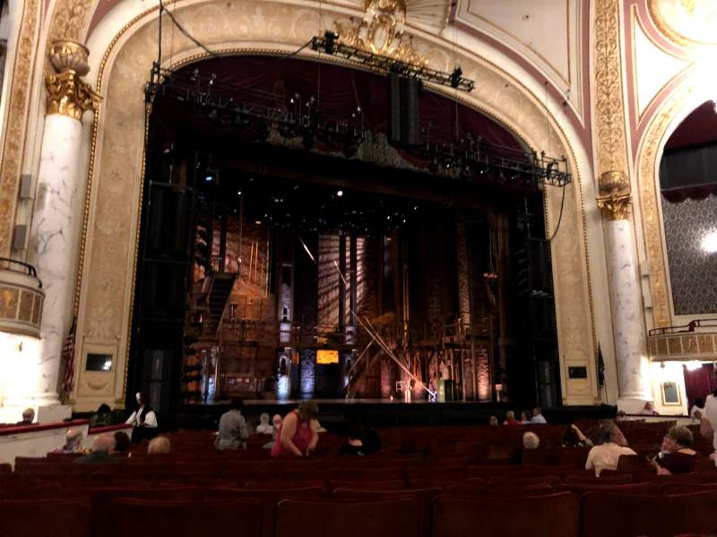 Seating view for Proctor's Theatre Section Orchestra L Row H Seat 15