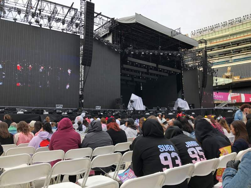 Seating view for Soldier Field Section A6 Row 21 Seat 18