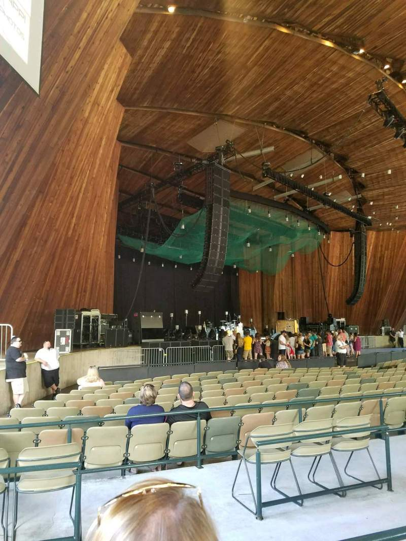 Blossom Music Center, section: 26, row: B, seat: 11
