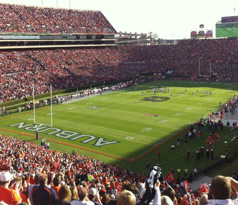 Seating view for Jordan-Hare Stadium Section 45 Row 62 Seat 36
