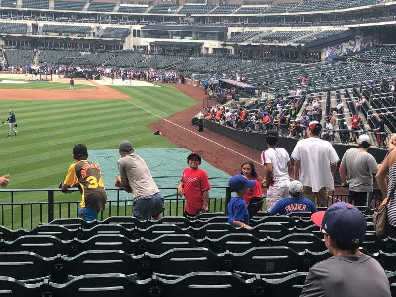 Seating view for Citi Field Section 134 Row 5 Seat 5