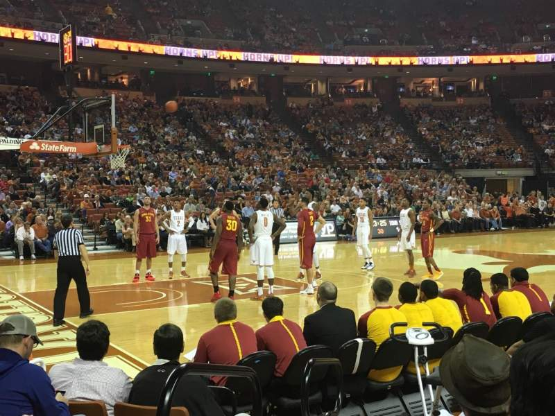 Seating view for Frank Erwin Center Section 47 Row 7 Seat 11