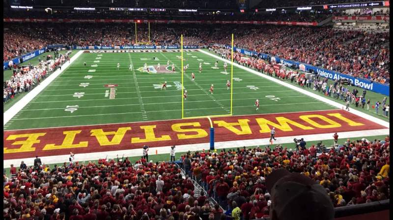 Seating view for Alamodome Section 224 Row 2 Seat 5