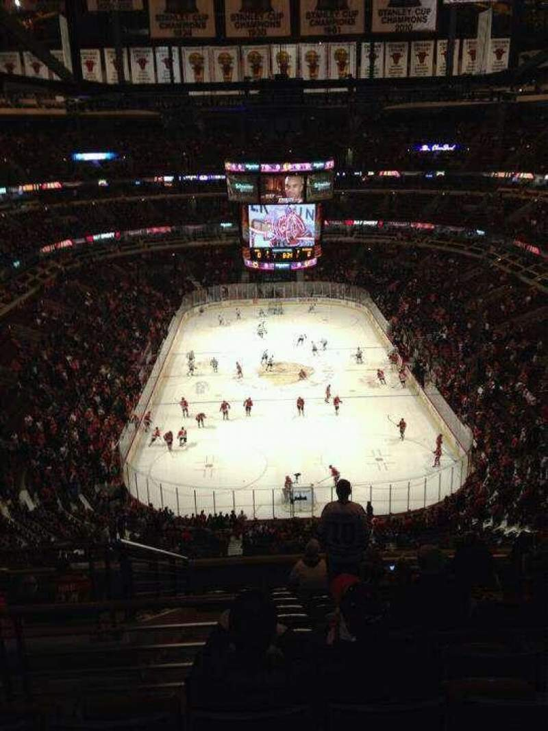 Seating view for United Center Section 306 Row 12