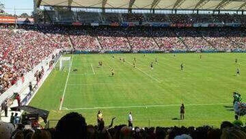 Seating view for StubHub Center Section UC40