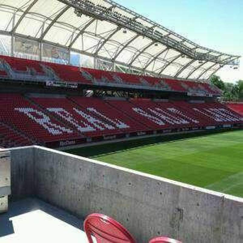 Seating view for Rio Tinto Stadium Section 31