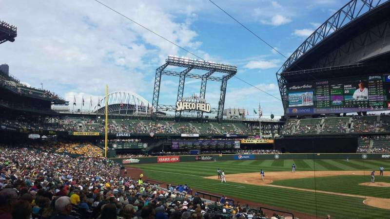 Seating view for T-Mobile Park Section 132 Row 28 Seat 10
