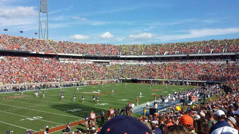 Seating view for Scott Stadium Section 130 Row BB Seat 6