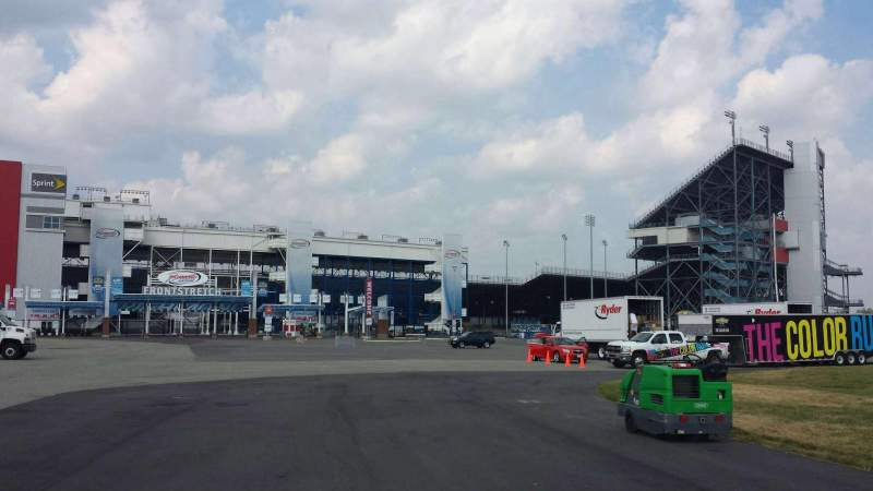 Seating view for Richmond International Raceway Section Outside