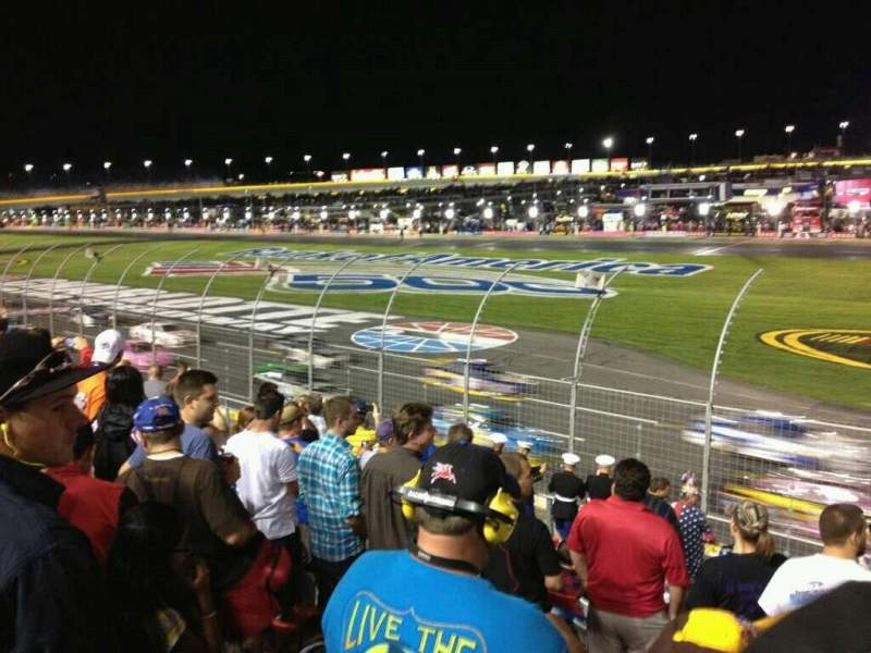 Seating view for Charlotte Motor Speedway Section GM-B Row 17