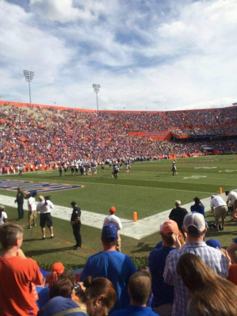 Seating view for Ben Hill Griffin Stadium Section 21 Row 8 Seat 30