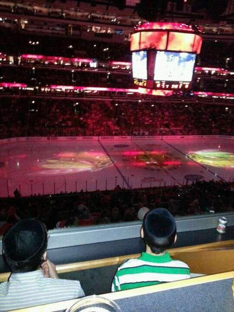 Seating view for United Center Section C5