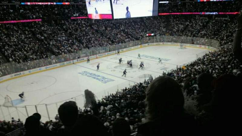 Seating view for Pepsi Center Section 208 Row 4 Seat 5