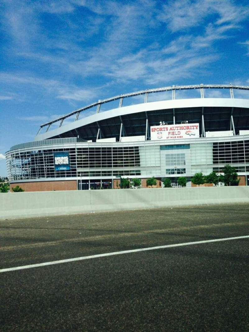 Seating view for Sports Authority Field at Mile High