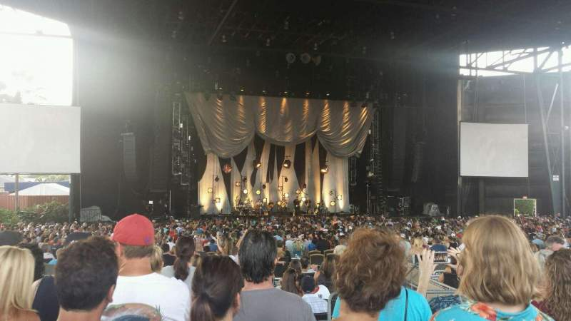 Seating view for Perfect Vodka Amphitheatre Section 7 Row N Seat 5