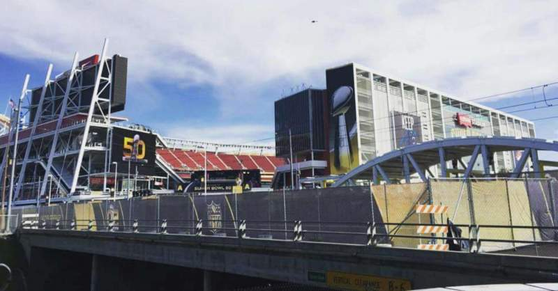 Seating view for Levi's Stadium Section Outside