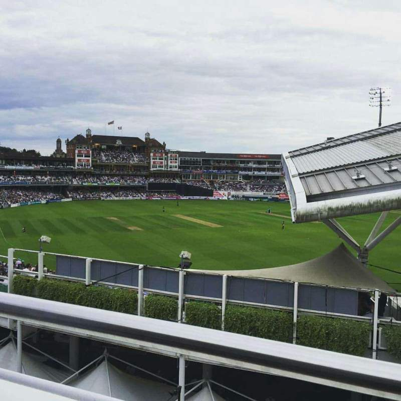 Seating view for Kia Oval