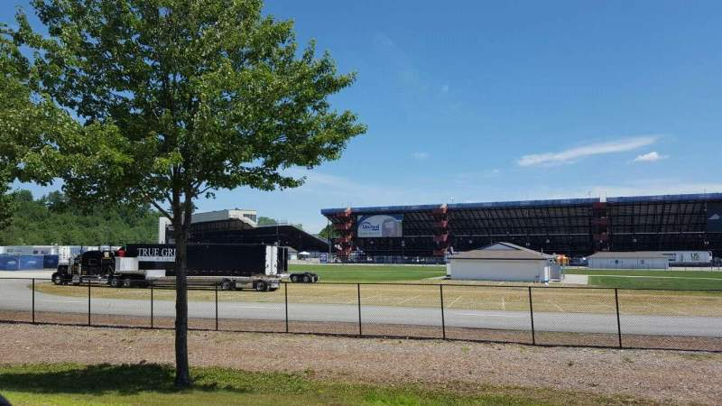 Seating view for New Hampshire Motor Speedway