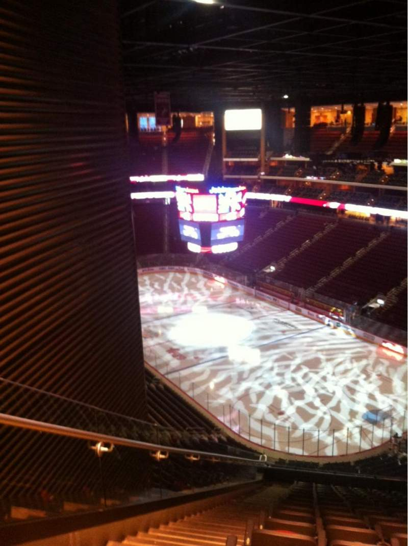 Seating view for Gila River Arena Section 211 Row Q Seat 21