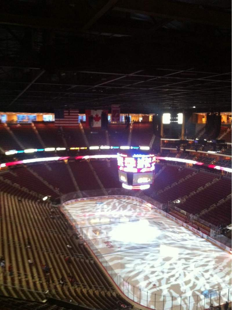 Seating view for Gila River Arena Section 211 Row Q Seat 3