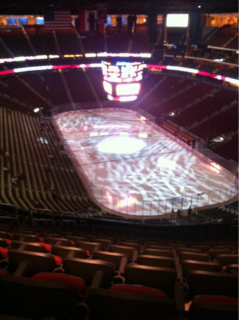 Seating view for Gila River Arena Section 210 Row Q Seat 14