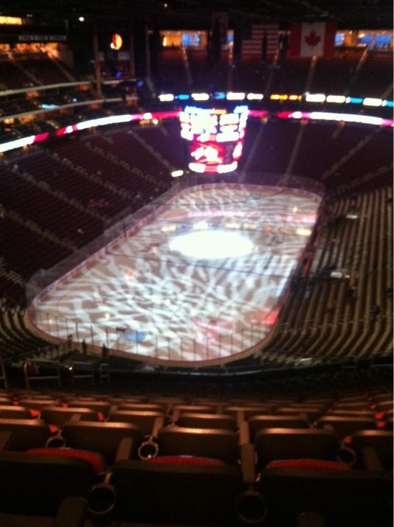 Seating view for Gila River Arena Section 206 Row Q Seat 15