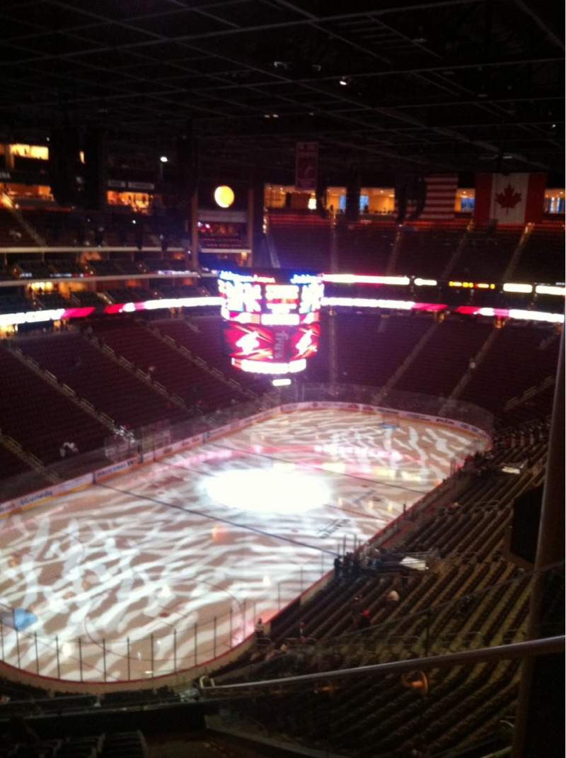 Seating view for Gila River Arena Section 205 Row L Seat 2