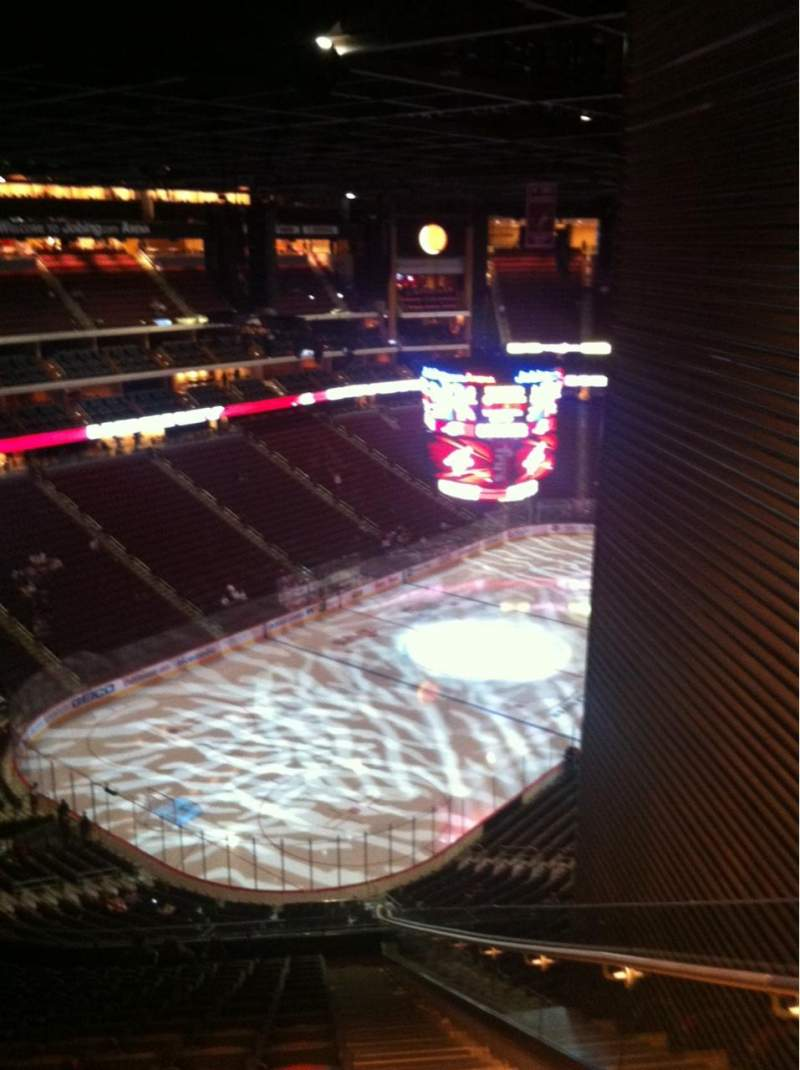 Seating view for Gila River Arena Section 205 Row Q Seat 1