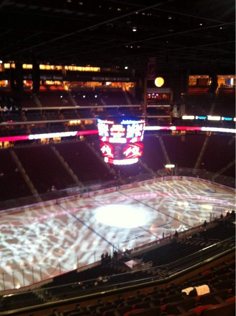 Seating view for Gila River Arena Section 203 Row H Seat 20