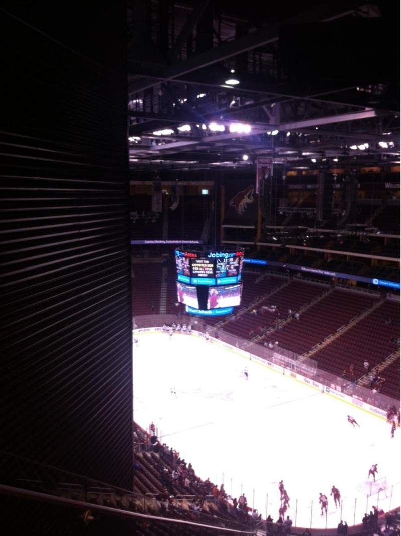 Seating view for Gila River Arena Section 226 Row Q Seat 1
