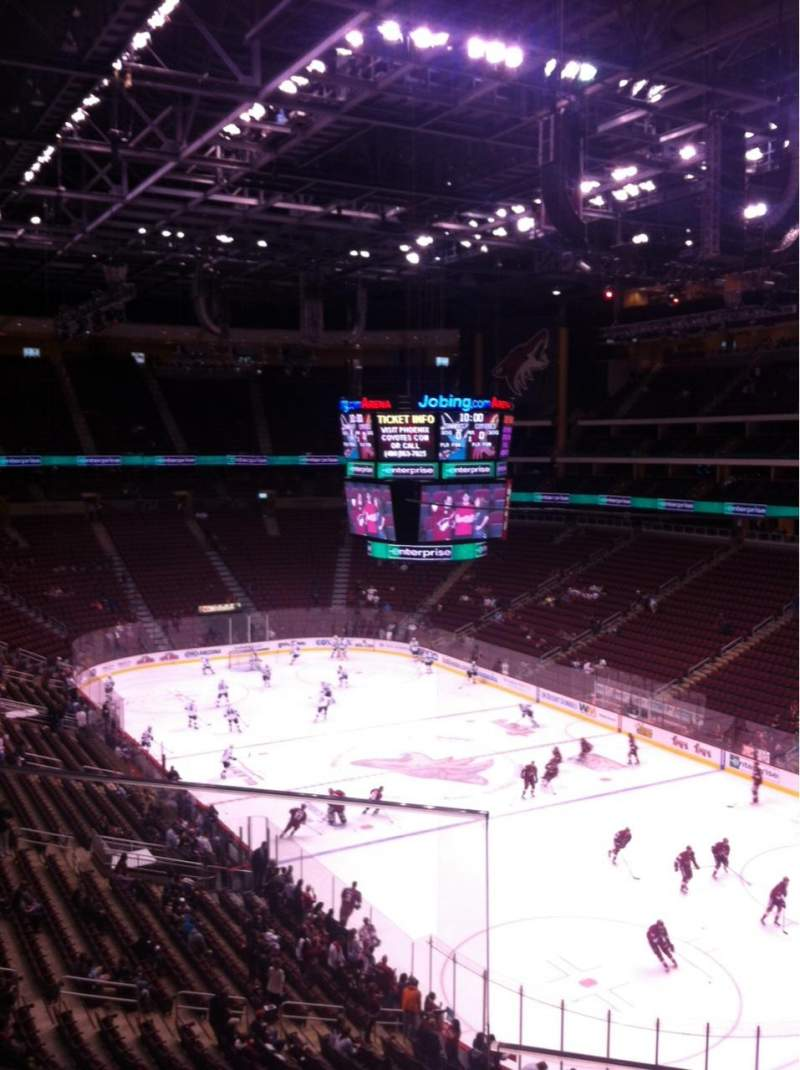 Seating view for Gila River Arena Section 226 Row B Seat 15