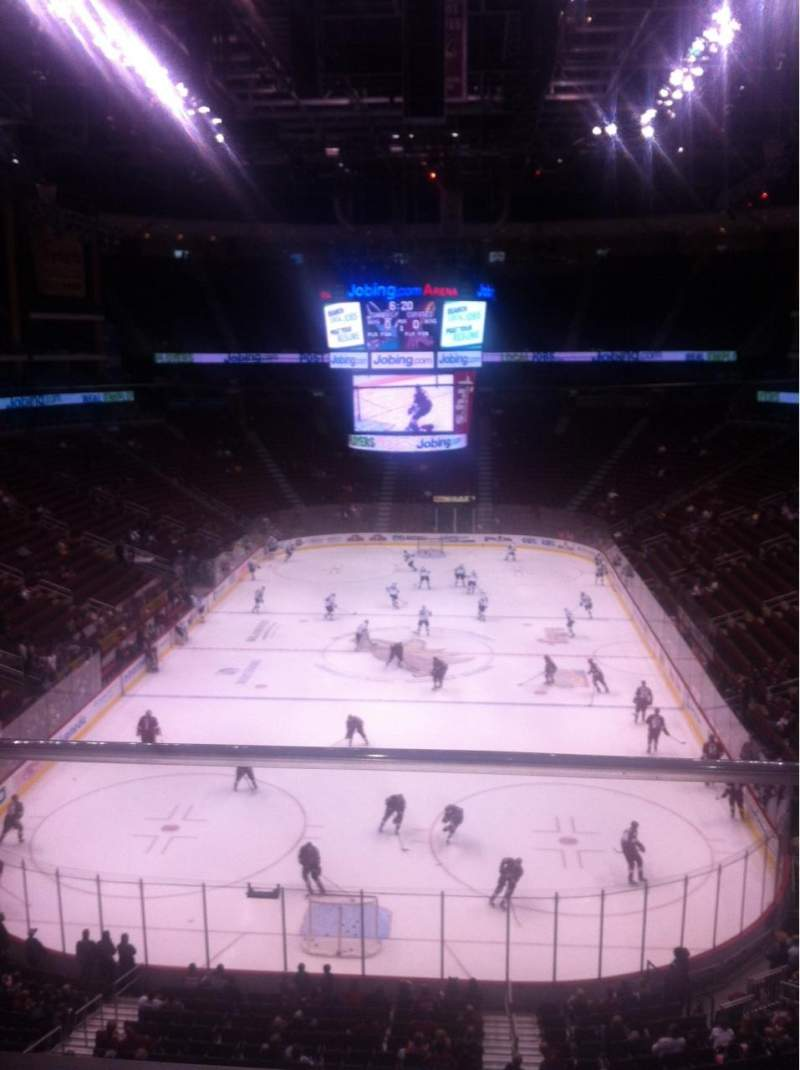 Seating view for Gila River Arena Section 223 Row A Seat 1